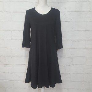 Mint Standard ¾ Sleeve Swing Dress Pockets M